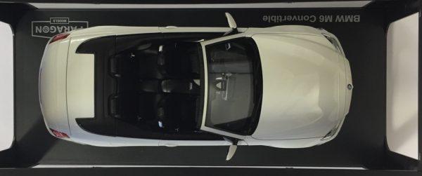 97061a - BMW F12 M6 CABRIO - WHITE