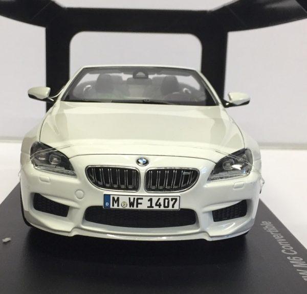97061f - BMW F12 M6 CABRIO - WHITE