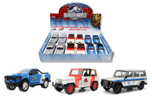 "Jurassic World Assortment - Pull back action - 4.5"" at diecastdepot"