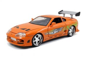 Fast & Furious - Brian's 1995 Toyota Supra at diecastdepot