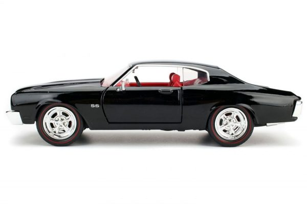 1970 Chevy Chevelle SS- Black at diecastdepot