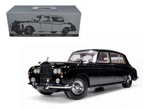 1964 Rolls Royce Phantom V- Black at diecastdepot