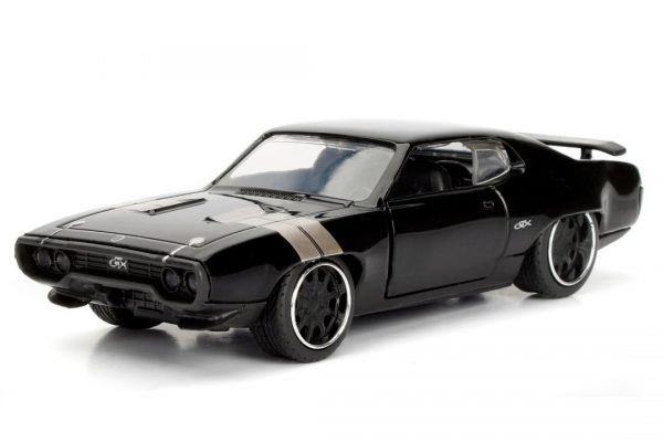 Dom's Plymouth GTX- Fast 8 at diecastdepot