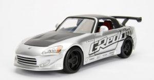 2001 Honda S2000 - JDM Tuners - SILVER at diecastdepot