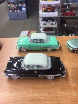 1953 Chevrolet Bel Air HT - brown or green - sold individually at diecastdepot