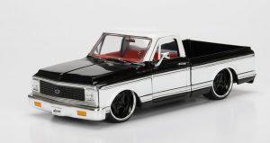 1972 Chevy Cheyenne- BLACK & WHITE at diecastdepot