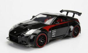 2003 Nissan 350Z - JDM Tuners - black at diecastdepot