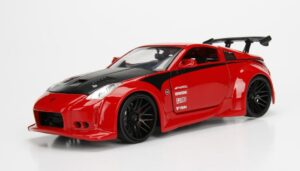 2003 Nissan 350Z - JDM Tuners - RED at diecastdepot