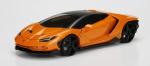2017 Lamborghini Centenario- Lambo Orange at diecastdepot