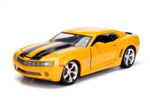 2006 Chevy Camaro Bumblebee - Transformers - YELLOW at diecastdepot