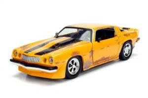 1977 Chevy Camaro BUMBLEBEE YELLOW - Transformers at diecastdepot