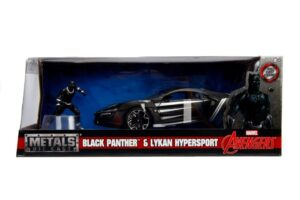 Lykan HyperSport w/BLACK PANTHER -Hollywood Rides at diecastdepot