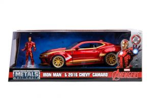 2016 Chevy Camaro SS w/IRONMAN - Hollywood Rides at diecastdepot