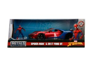 2017 Ford GT w/SPIDER-MAN - Hollywood Rides at diecastdepot