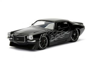 1971 Chevrolet Camaro - Bigtime Muscle - black at diecastdepot