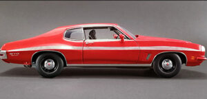 1972 Pontiac LeMans GTO- RED at diecastdepot