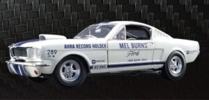 1965 Ford Shelby GT350- Mel Burns at diecastdepot