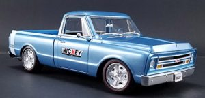 1967 Chevrolet C10 Pick Up Truck - Nickey Chevrolet Custom Shop Truck at diecastdepot
