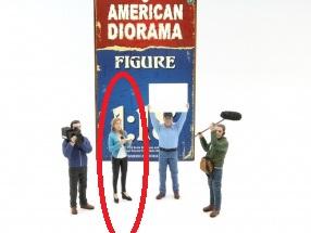 Camera Crew Figures- 1:18 at diecastdepot
