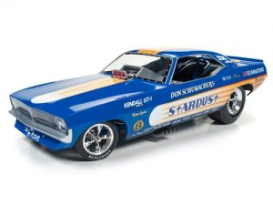 Don Schumacher's 1972 Plymouth Cuda Stardust (Bobby Rowe) at diecastdepot