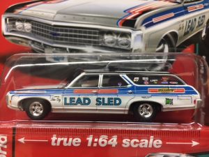 1969 Chevrolet Kingswood Wagon - white - special edition at diecastdepot