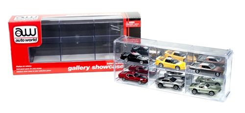 6 Car Interlocking Display Case for 1:64 scale at diecastdepot