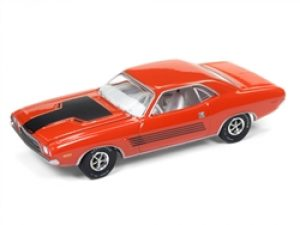 1972 DODGE CHALLENGER- ORANGE-VINTAGE MUSCLE at diecastdepot