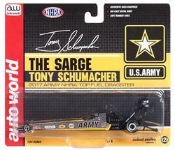 2017 T Schumacher Top Fuel Dragster - US Army by Autoworld at diecastdepot