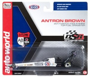 2017 A Brown Top Fuel Dragster - Matco Tools by Autoworld at diecastdepot