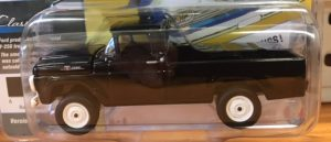 1959 Ford F250 Pick up Truck in Raven Black w/hitch - Limited to 1800 at diecastdepot