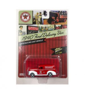 1940 Ford Panel Delivery Van -Texaco at diecastdepot