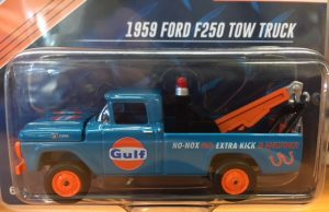 1959 Ford F250 Tow Truck - Gulf - Limited to 2400 at diecastdepot