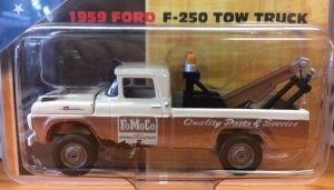 1959 Ford F-250 Pick Up Tow Truck - FoMoCo - Johnny Lightning Limited to 2400 at diecastdepot
