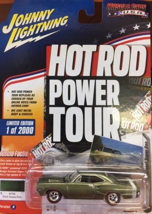 1969 Dodge Coronet Super Bee - HOT ROD POWER TOUR at diecastdepot