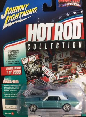1965 Ford Mustang Coupe - Hot Rod Collection - Muscle Cars USA at diecastdepot