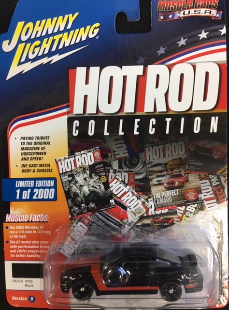 2005 Ford Mustang GT - Hot Rod Collection - Muscle Cars USA - Johnny Lightning at diecastdepot