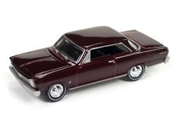 1965 Chevrolet Nova (Madeira Maroon) at diecastdepot