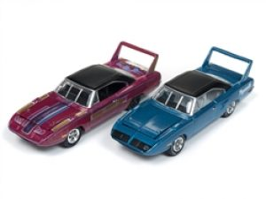 1970 Plymouth Superbird - Johnny Lightning Barn Finds (2-Pack) at diecastdepot
