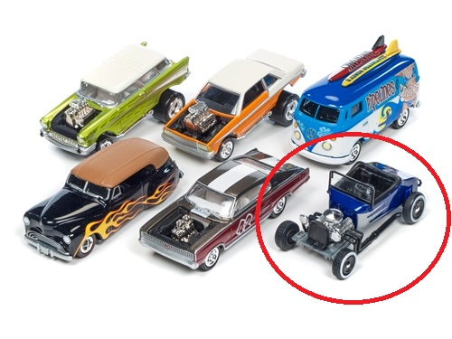 1964 Volkswagon Transporter- Johnny Lightning Street Freaks Release 2 D at diecastdepot