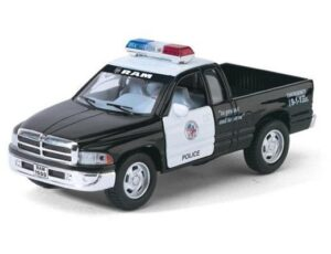 DODGE RAM PICK UP TRUCK POLICE - PULL BACK ACTION
