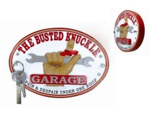 BUSTED KNUCKLE OVAL KEY RACK