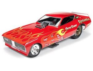 1971 DODGE CHARGER FUNNY CAR - GENE SNOW RAMBUNCTIOUS