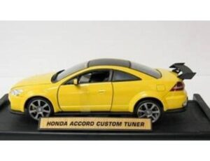 HONDA ACCORD TUNER - YELLOW
