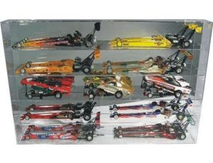 DISPLAY CASE FOR FUNNY CARS AND DRAGSTERS