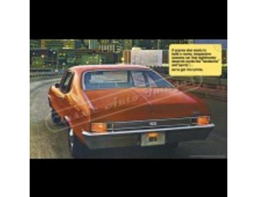 1969 Chevy Nova - Original Ad Poster