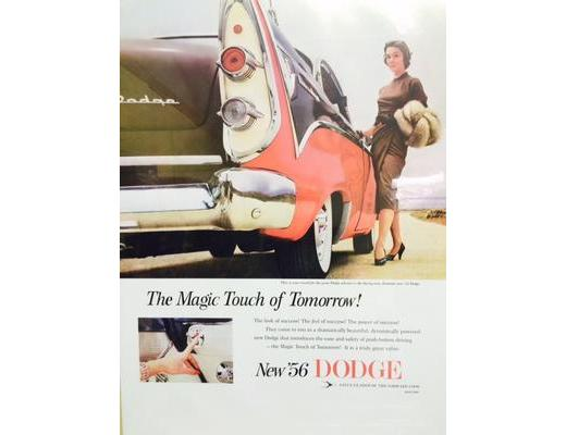 1956 Dodge - Original Ad Poster