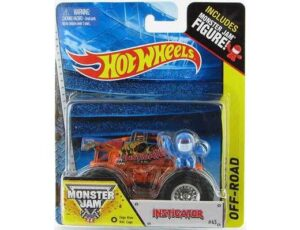 MONSTER JAM WITH FIGURE - INSTIGATOR BY HOT WHEESLS