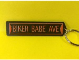 BIKER BABE AVE KEY CHAIN