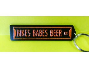 BIKES BABES BEER DR KEY CHAIN