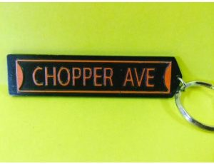 CHOPPER AVE KEY CHAIN